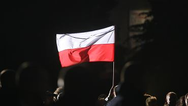 Flaga Polski - zdjęcie ilustracyjne
