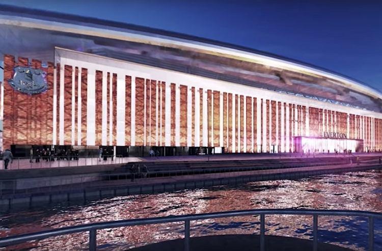 Projekt nowego stadionu Evertonu