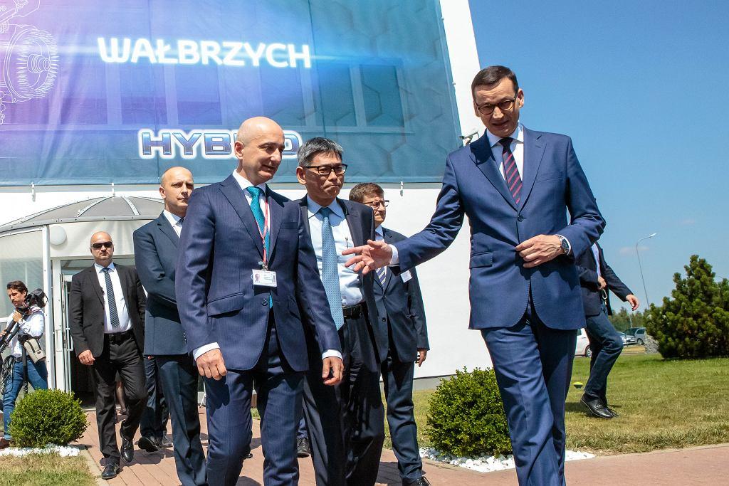 Premier Morawiecki i Eiji Takeichi zapowiedzieli otwarcie nowej fabryki Toyoty