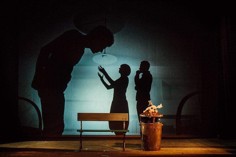 Miłoś, czyli nie bój się łosiu; Teatr Guliwer / fot. Bartek Warzecha