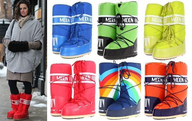 Moon Boots - jak nosić i gdzie kupić