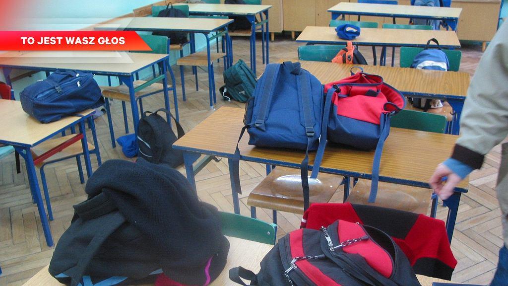 Pomimo szafek w wielu szkołach plecaki nadal są za ciężkie