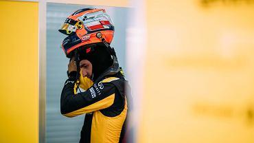Robert Kubica na testach zespołu Renault w Walencji