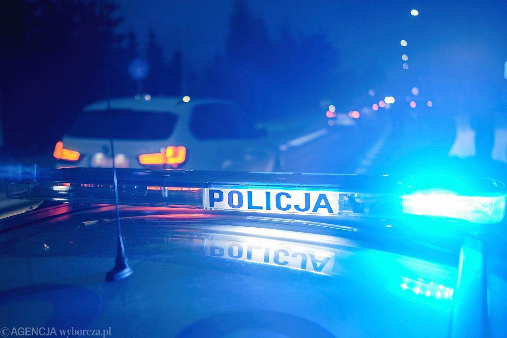 Olsztyn. Znany biznesmen zginął w wypadku (policja - zdjęcie ilustracyjne)
