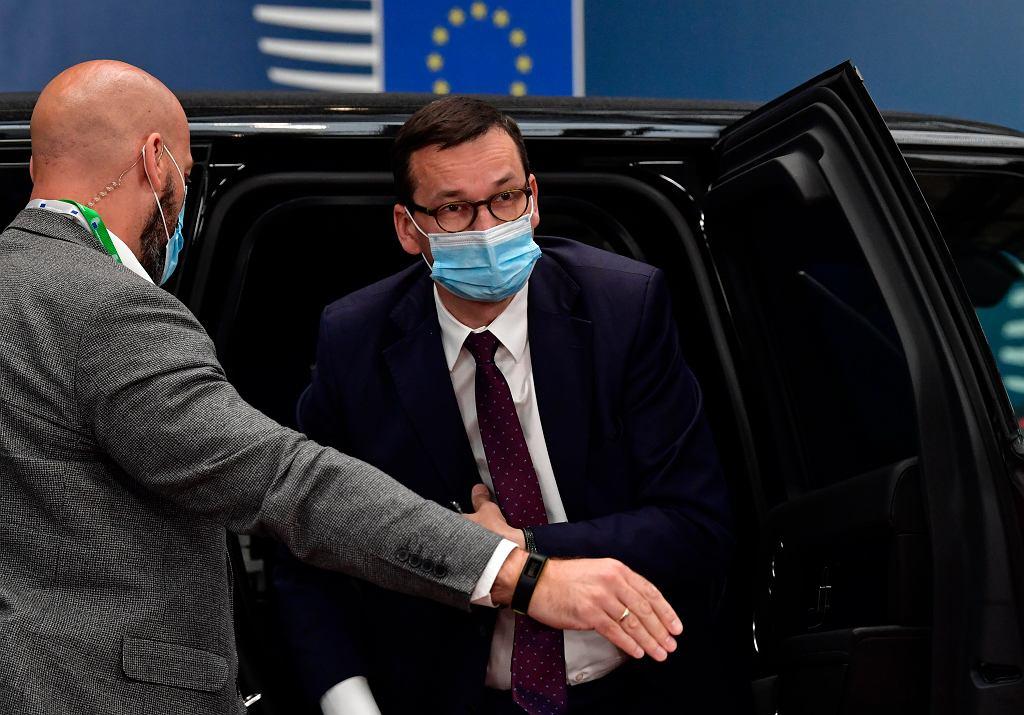 Premier Polski Mateusz Morawiecki na szczycie ws. budżetu UE