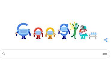 'Punkt szczepień COVID-19 blisko mnie'. Google Doodle pokazuje, gdzie się zaszczepić