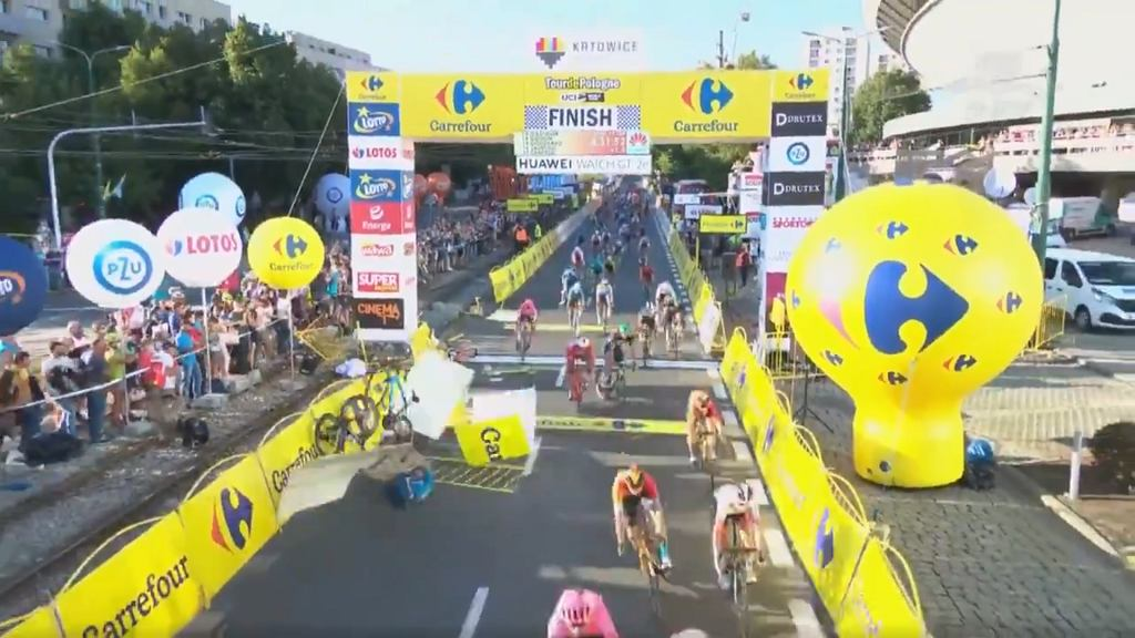 Wypadek na pierwszym etapie 77. Tour de Pologne