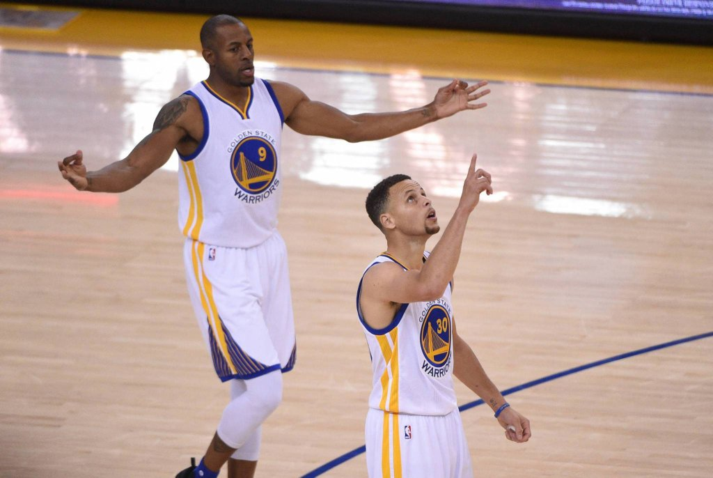 Andre Iguodala i Stephen Curry