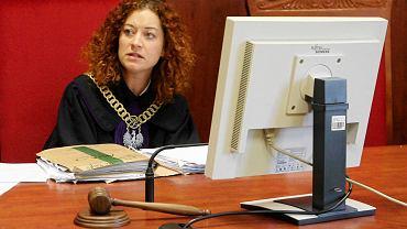 Sędzia Olimpia Barańska - Małuszek z Wydziału I Cywilnego Sądu Rejonowego w Gorzowie
