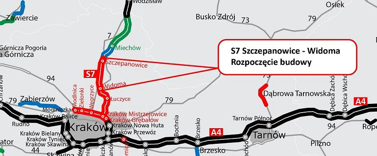 S7. Już niedługo z Warszawy do Krakowa pojedziemy ekspresówką. Kolejny odcinek S7 w budowie