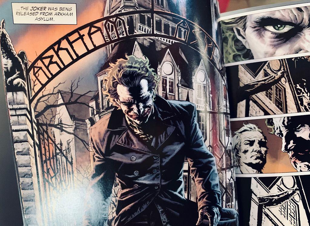 Joker w komiksie Briana Azzarello z ilustracjami Lee Bermejo / DC Comics (zdjęcie ilustracyjne)