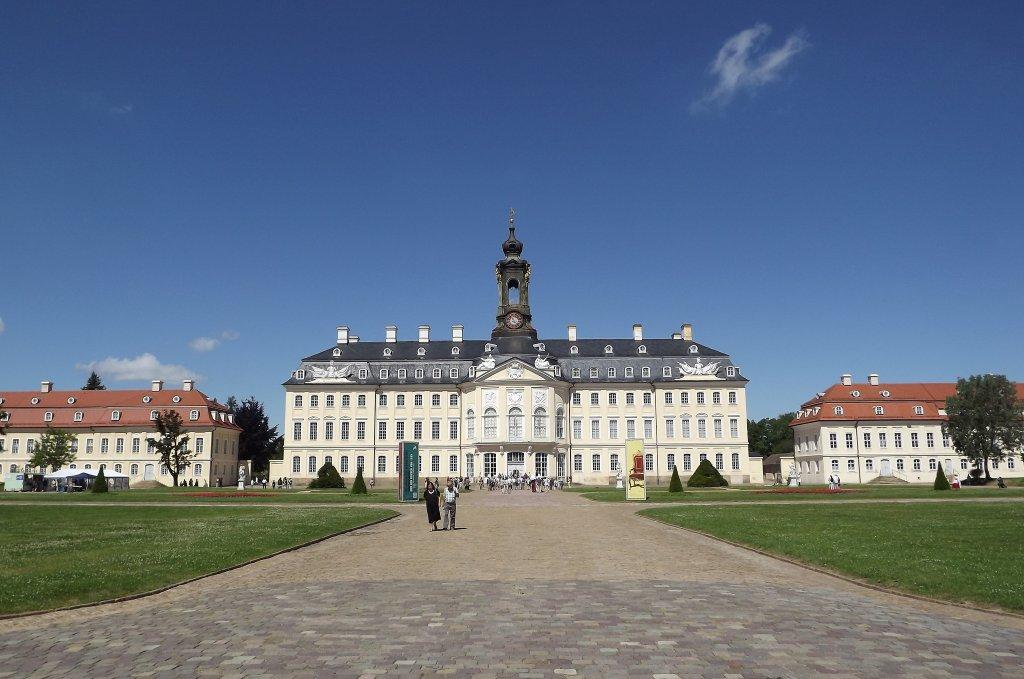 Zamek Hubertusburg w Wermsdorf