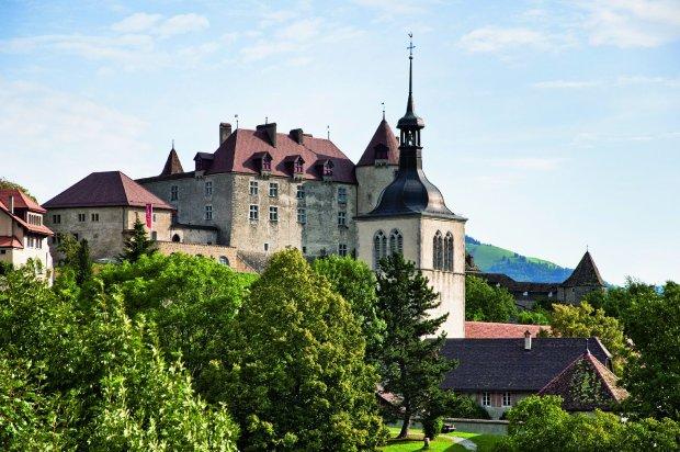 zamek w Gruyeres