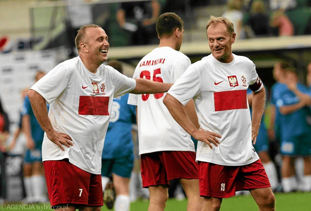 Donald Tusk i Grzegorz Schetyna dotąd grali w jednej drużynie