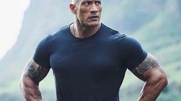 Dwayne Johnson pracuje nad formą do roli superbohatera