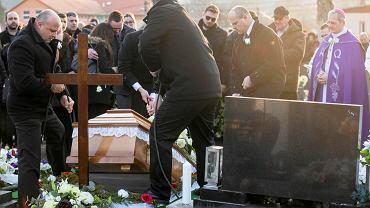 Stiavnik, pogrzeb zamordowanego dziennikarza Jana Kuciaka, 3 marca 2018 r.