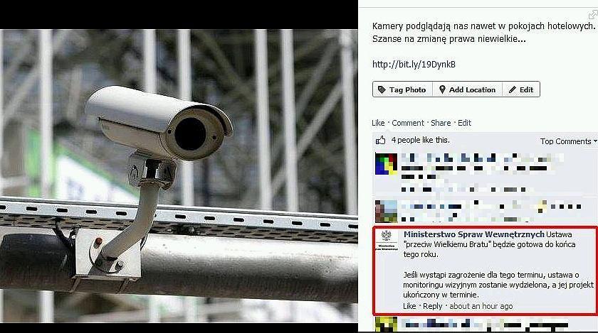 MSW zamieściło komentarz na fanpage Gazeta.pl