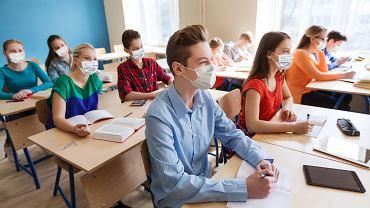 Uczniowie w czasie epidemii