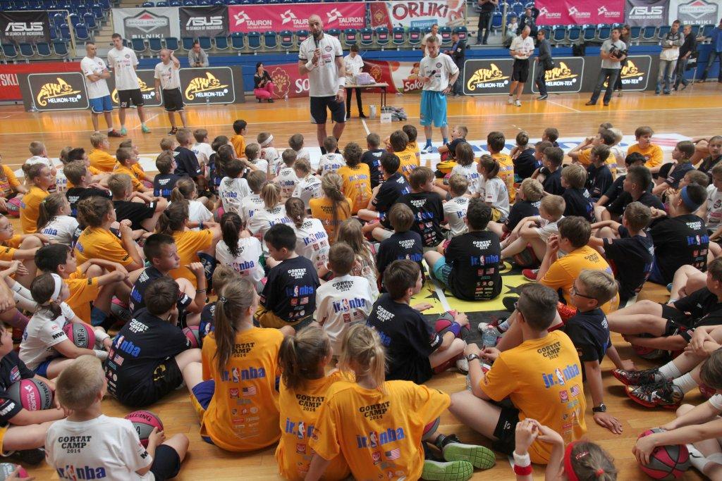 7MG13 Camp 2014. trening z dziecmi w Sopocie. 20.06.2014