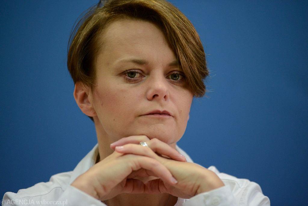 Jadwiga Emilewicz, minister przedsiębiorczości i technologii.