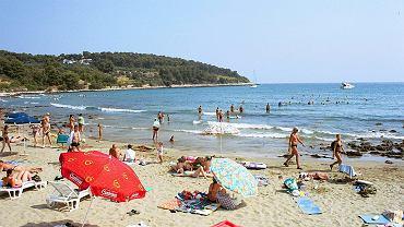 Plaża w Chorwacji (zdjęcie ilustracyjne)