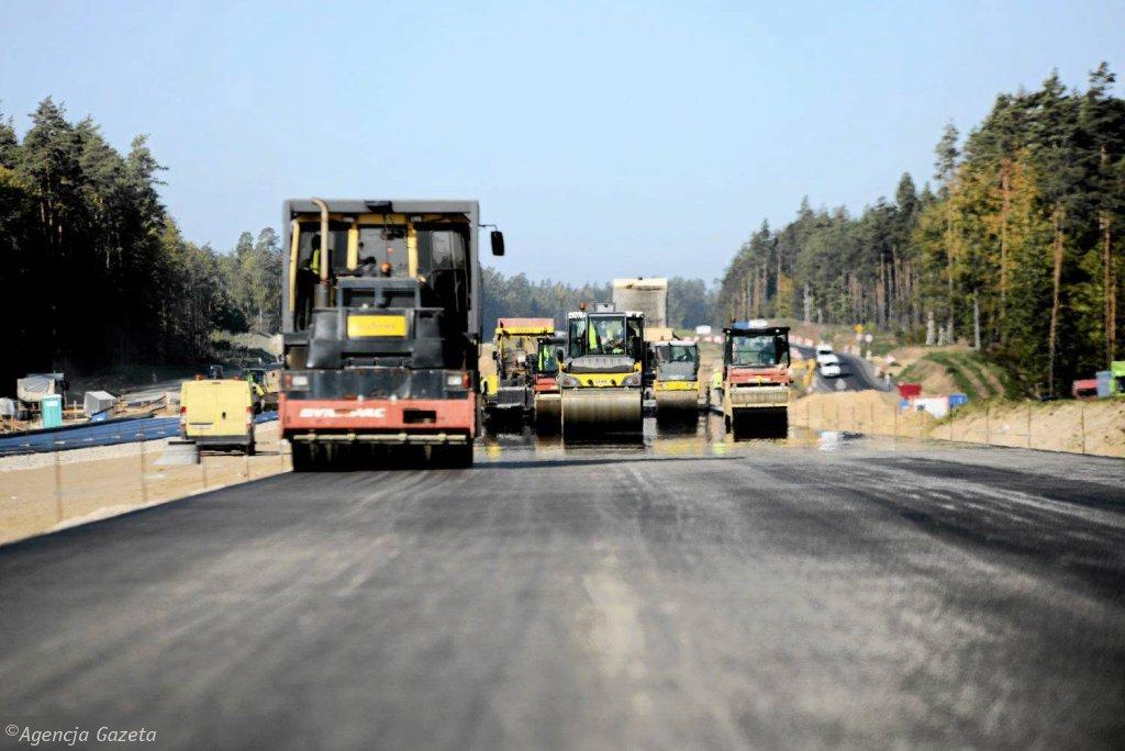Budowa drogi ekspresowej S7 w woj. warmińsko-mazurskim