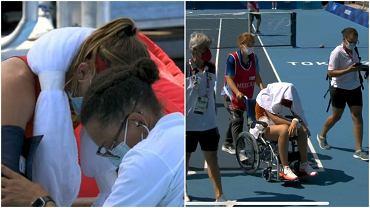 Paula Badosa poddała mecz igrzysk olimpijskich