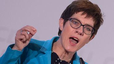 Kandydatka na fotel szefowej CDU Annegret Kramp-Karrenbauer
