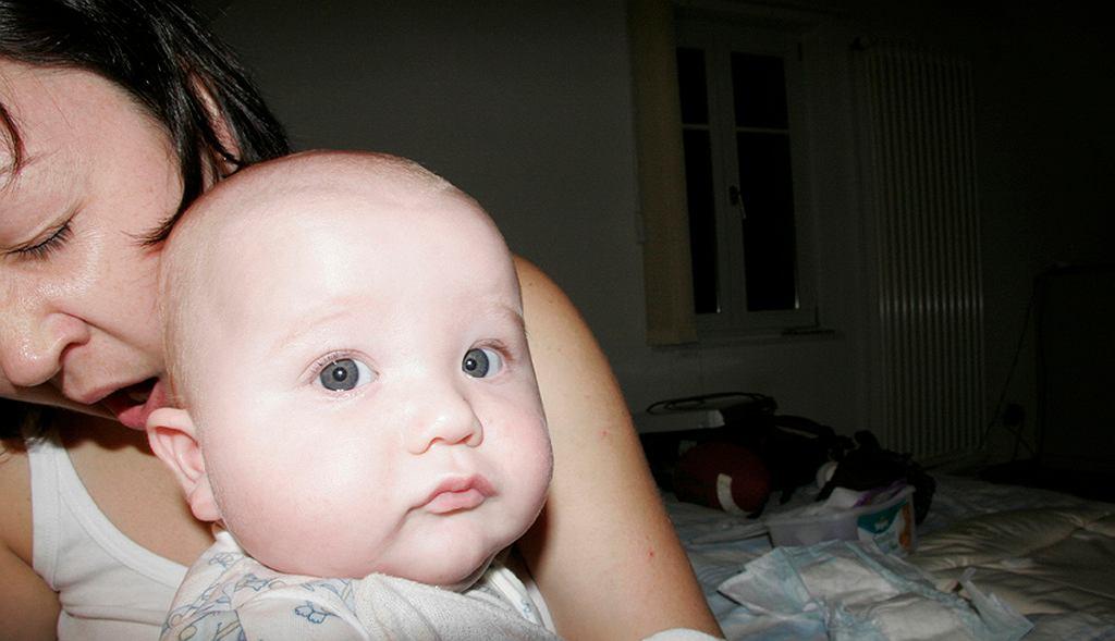 Matka z niemowlakiem