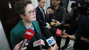 Katarzyna Lubnauer, przewodnicząca Nowoczesnej, po przejściu posłów do klubu PO-Koalicja Obywatelska