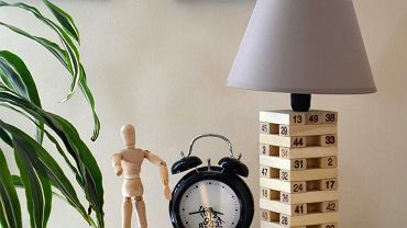 Lampa Gra Jenga, cena: 145 zł, dawanda.com/pracowniajabloniee