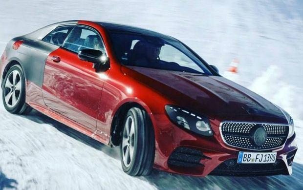 Przeciek Mercedesa klasy E Coupe