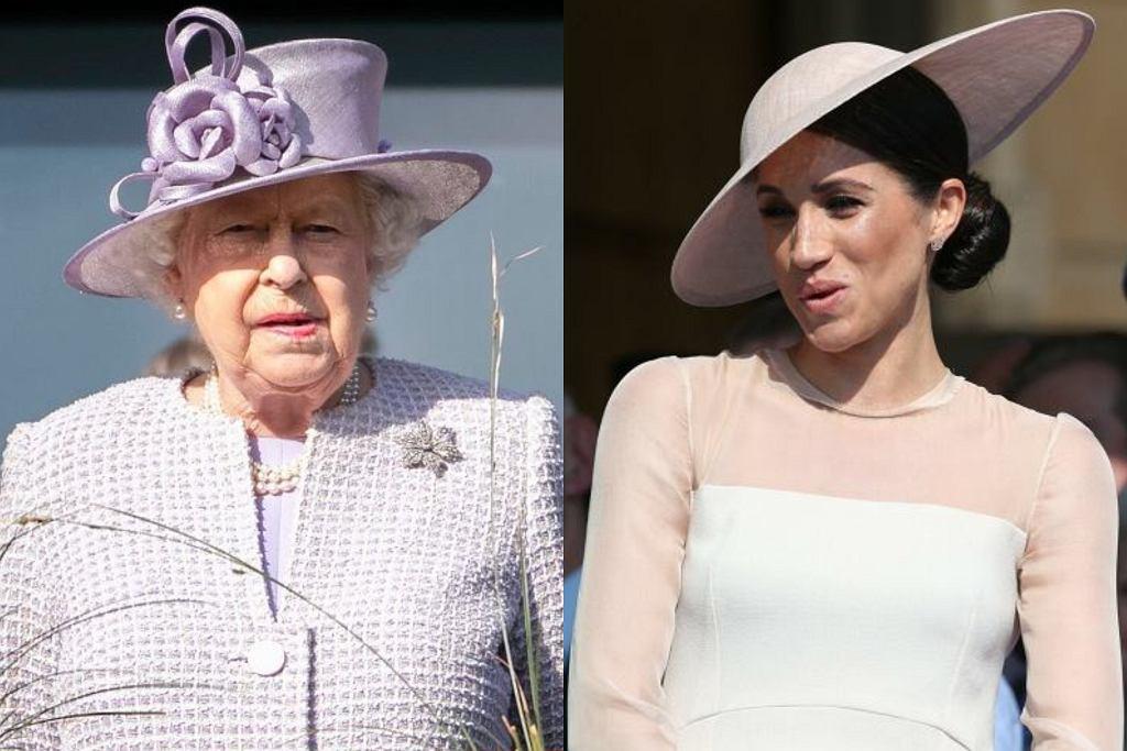 Królowa Elżbieta złożyła Meghan Markle życzenia urodzinowe