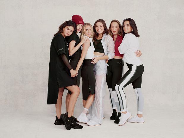 Selena Gomez i grupa je przyjaciółek, która wystąpiła w kampanii kolekcji dla PUMA