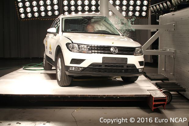 Volkswagen Tiguan Euro NCAP