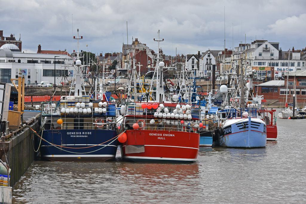 Wielka Brytania, port w Bridlington. Brexit oznacza, że kraj przestanie być częścią wspólnej polityki UE dot. rybołówstwa.