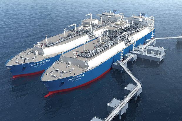 Gazoport dobił do Kaliningradu. Kosztowna inwestycja Gazpromu