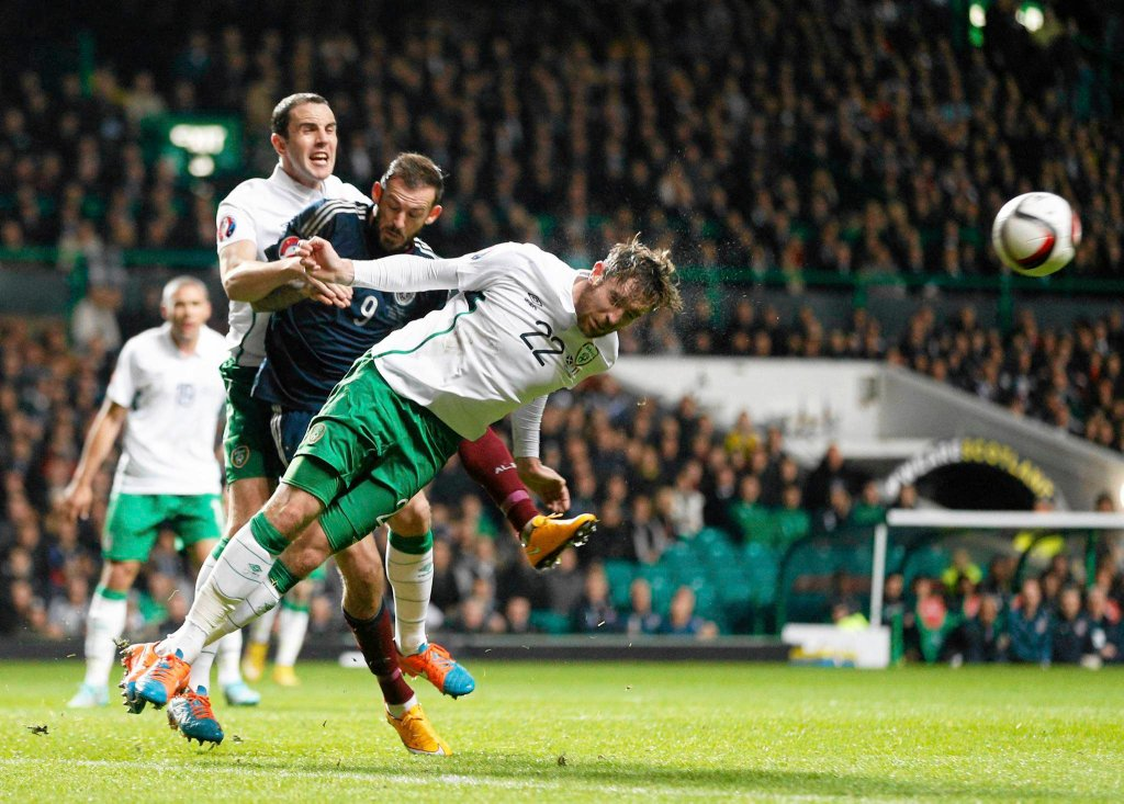 El. Euro 2016. Szkocja - Irlandia 1:0