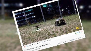 Dron dekarz