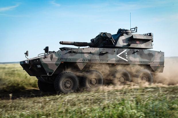 Moździerz Rak z 21. Brygady Strzelców Podhalańskich na poligonie
