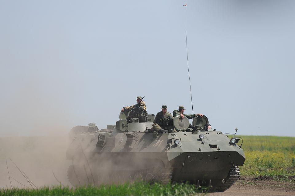 Ćwiczenia wojsk Federacji Rosyjskiej nieopodal granicy ukraińskiej, 15 maja 2015 r.