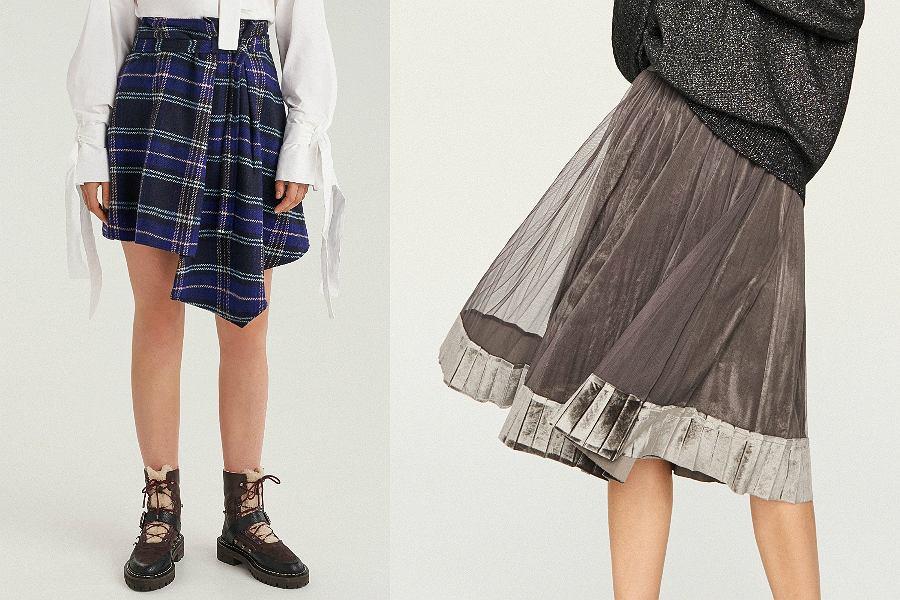 Najpiękniejsze spódnice Reserved z wyprzedaży
