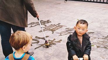 Wózek to dla Chińczyków zimny chów.