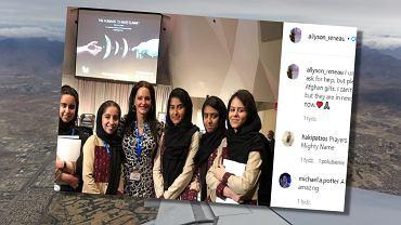 Mama 11 dzieci uratowała 10 Afganek