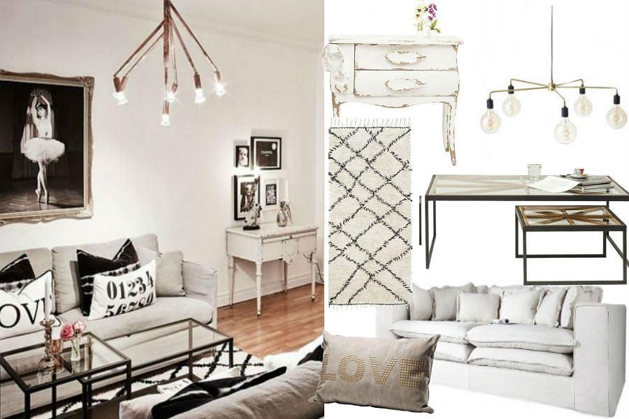 Eleganckie mieszkanie w bieli
