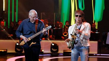 Kuba Sienkiewicz na koncercie podczas 53. Krajowego Festiwalu Piosenki Polskiej w Opolu