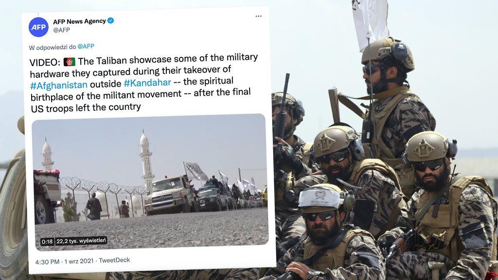 Talibowie świętują opuszczenie Afganistanu przez amerykańskie wojska