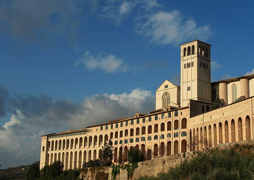 Klasztor we Włoszech (zdjęcie ilustracyjne)