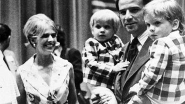 Joe Biden z pierwszą żoną i synami