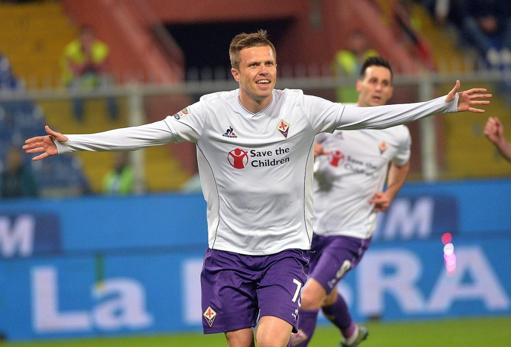 Sampdoria Genua - Fiorentina 0:2. Josip Ilicić